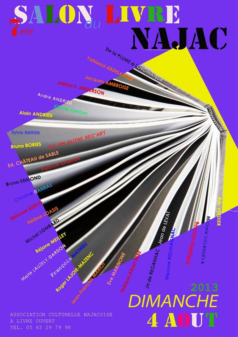 Salon du Livre de Najac -  2013