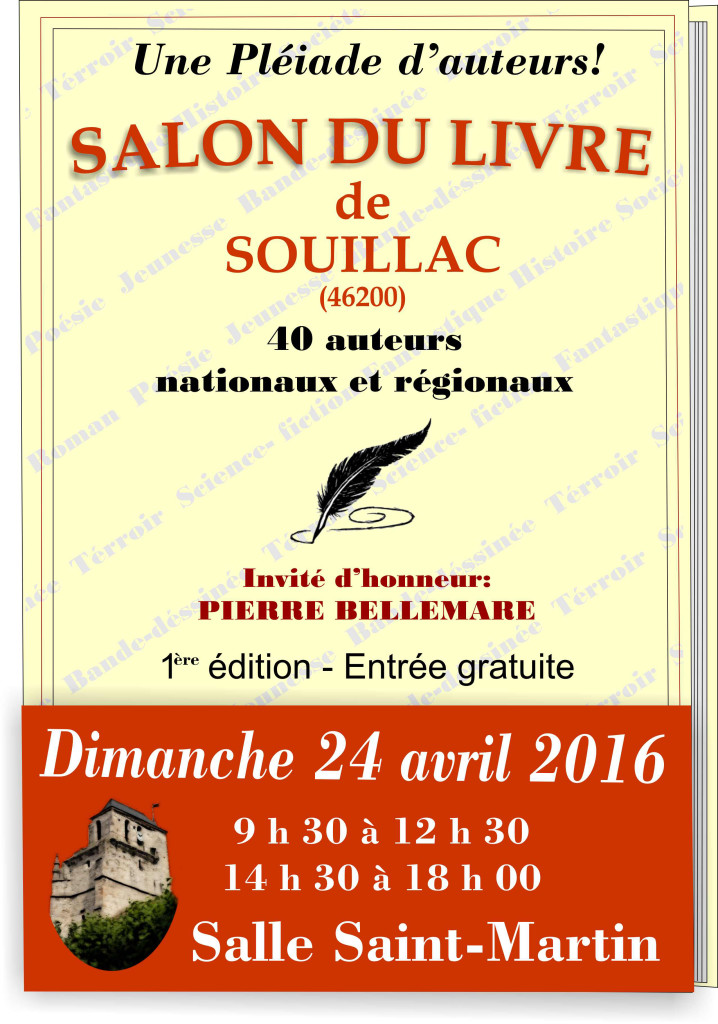 Salon du Livre de Souillac (46).