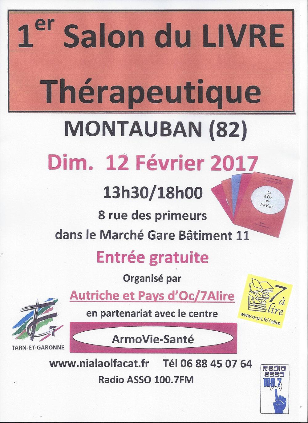 Salon du Livre Thérapeutique - Montayban (82)