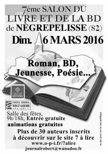 Salon du Livre et de la BD à Nègrepelisse (82)