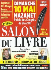Salon du Livre 2015 - Mazamet (81)