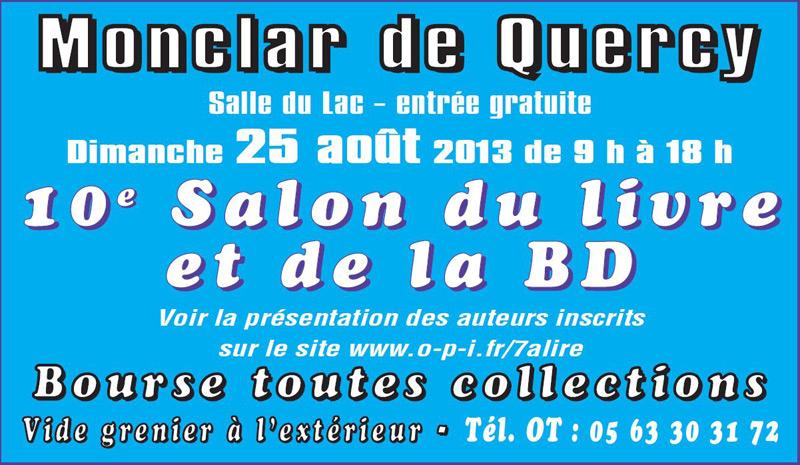 Salon du Livre et de la BD 2013 - Monclar de Quercy