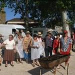 Les sardinades sont grillées...et les bénévoles ont chaud! Montricoux 2012