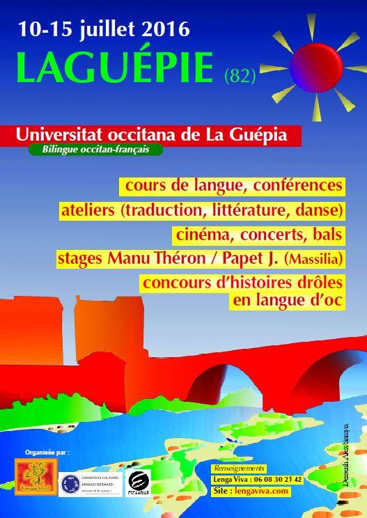 Université Occitane d'été de Laguépie