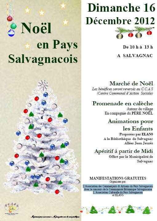 Noël en Pays Salvagnacois 2012