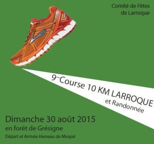 10km de Larroque 2015
