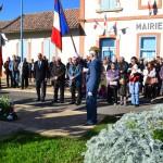 Cérémonie du 11 Novembre à Léojac (82)
