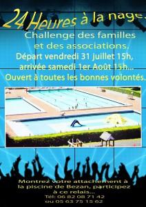24h à la nage - Montredon Labessonnié (81)