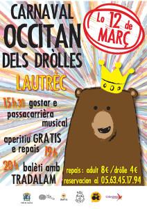 Carnaval Occitan des Enfants à Lautrec (81)