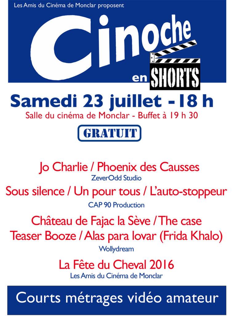 Cinoche en Shorts ... à Monclar de Quercy (82)