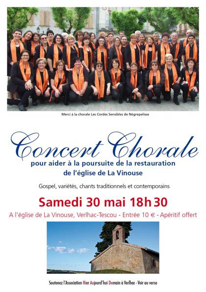 Concert La Vinouse - Verlhac Tescou (82)