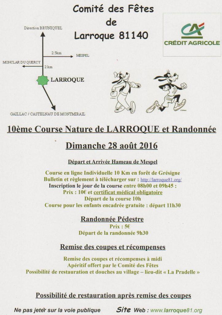 Course Nature ... à Larroque (81)