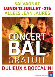 Concert Bal Dulieux Boccalin à Salvagnac (81)