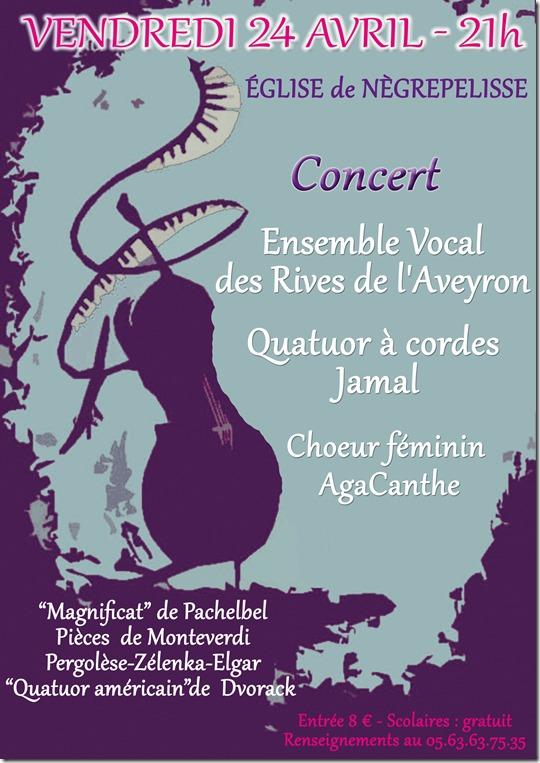 Concert à Nègrepelisse (82)