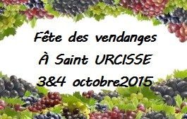 Fête des Vendanges St URCISSE