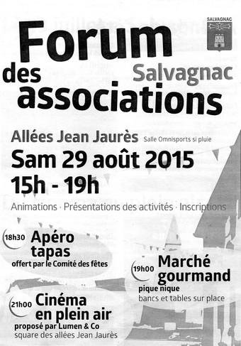 Forum des asso Salvagnac