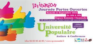 L'Université Populaire ouvre ses portes ... à Caussade (82)