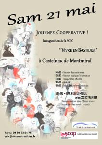 Journée coopérative et Inauguration Festive ... à Castelnau de Montmiral (81)