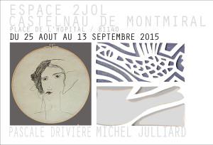 Pascale Drivière et Michel Julliard exposent à Castelnau de Montmiral (81)