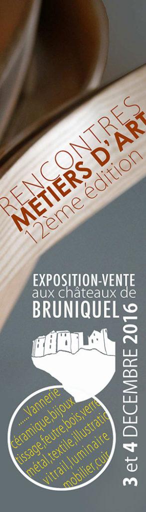 Rencontres des métiers d'Art ... à Bruniquel (82)