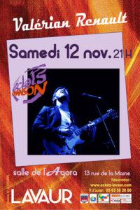 Valerian Renault  en concert ... à Lavaur (81)