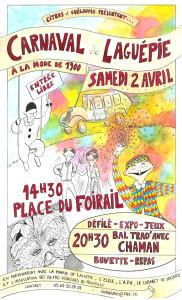 Carnaval 2016 - Laguépie (82)