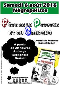Fête de la Piscine et du Camping - Nègrepelisse (82)