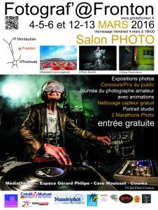 """Salon photo Fotograf'@Fronton"" 2016"