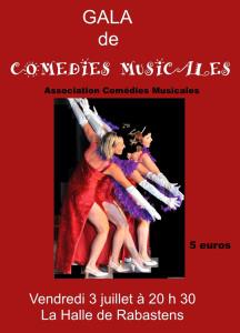 Comédies Musicales fait son gala à Rabastens (81)