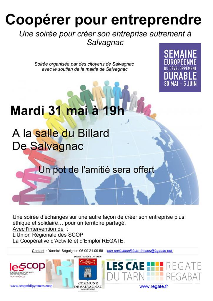 Coopérer pour entreprendre ... à Salvagnac (81)