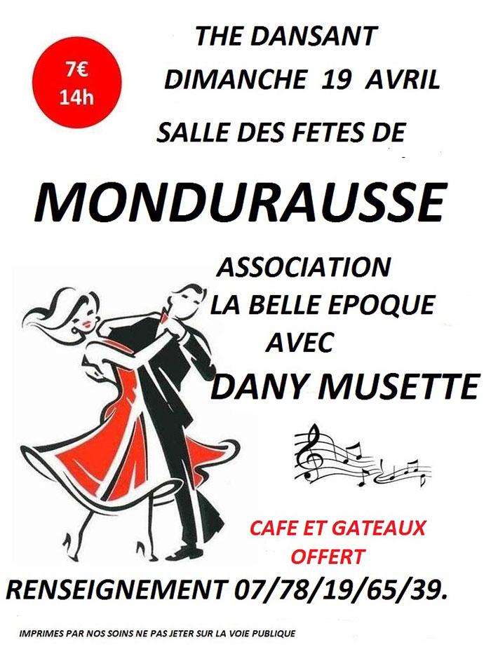 Thé dansant à Montdurausse (81)