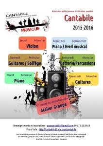 Cantabile - Musique à Monclar de Quercy (82)