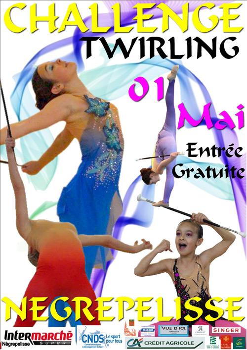 10ème challenge de Twirling de la ville de Nègrepelisse
