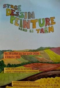 Atelier Dessin Peinture à Villette - Montgaillard (81)