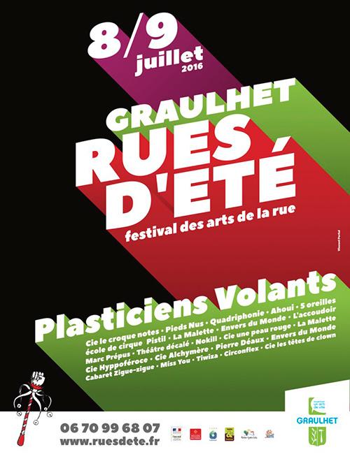 Festival Rues d'Eté ... à Graulhet (81)