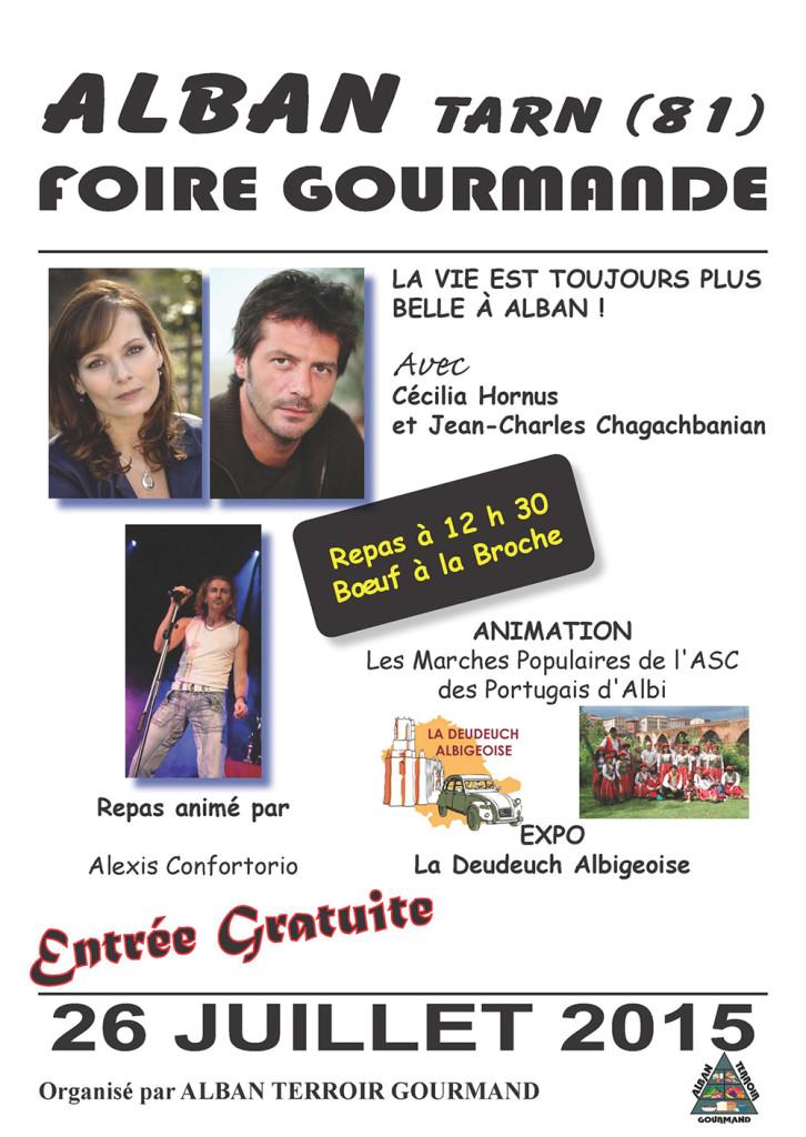 Foire Gourmande 2015 - Alban (81)