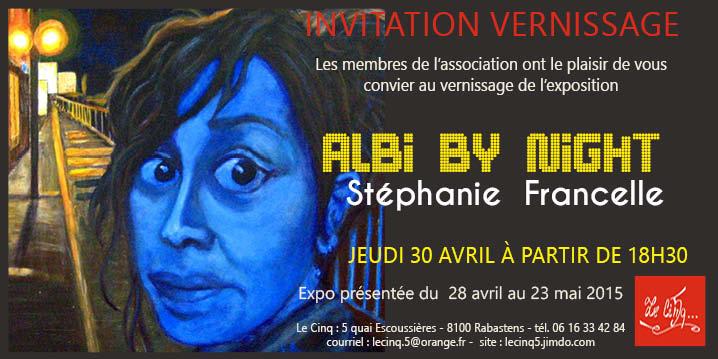 Albi by night. Stéphanie Francelle