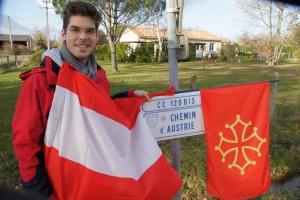Alexander a pu venir en  Occitanie grâce à l'association AUTRICHE & PAYS d'OC . Si vous souhaitez , vous aussi , accueillir un /une étudiant(e) autrichienne en février, juillet , août ou septembre , Allo 0671002925 ou journalrobert@wanadoo.fr. Cf aussi  notre site 7 à lire !