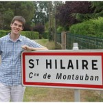 Alexander SIGMUND, occitanophone Autrichien a séjourné, en 2012 en Tarn et Garonne dans le cadre d'une action menée par TG'OC (Tarn e Garona occitan / Association Frédéric Cayrou)
