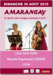 Amarancay à Lisle sur Tarn (81)