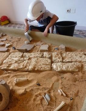 Archéologue en herbe
