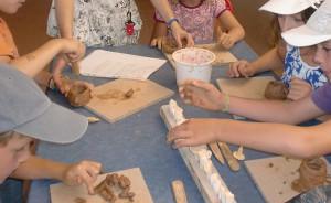 Ateliers à l'Archéosite de Montans
