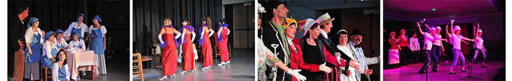 Création d'une comédie musicale avec l'Asquith Show Cie - Rabastens (81)