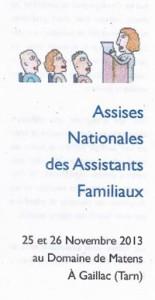 Assises Nationales - Assistants Familiaux