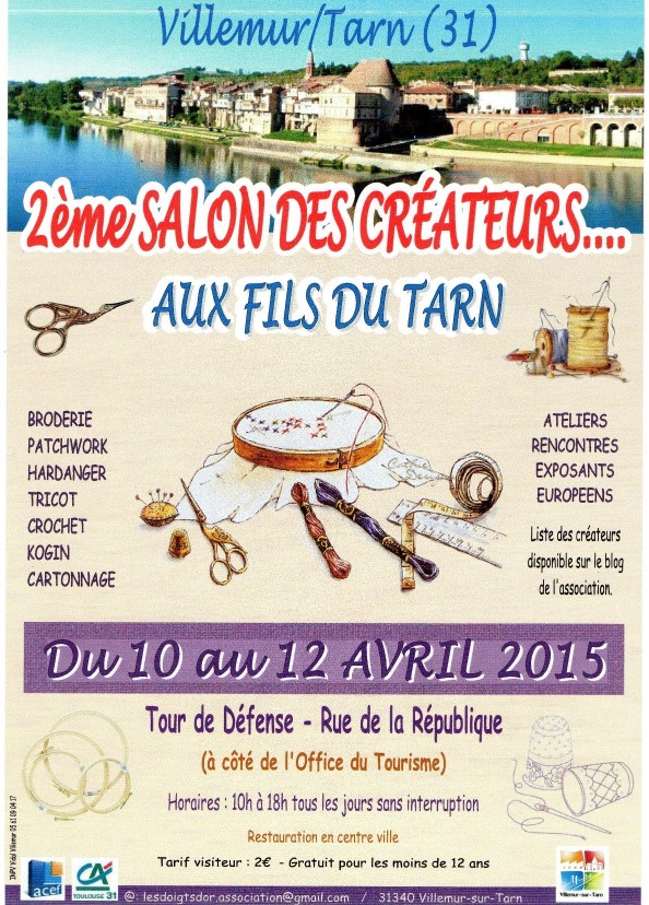 Salon des Créateurs - Villemur sur Tarn (31)