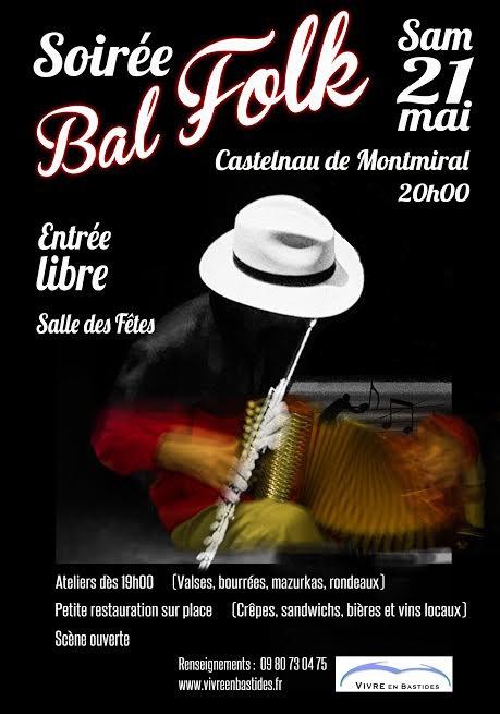 Bal Folk à Castelnau de Montmiral (81)