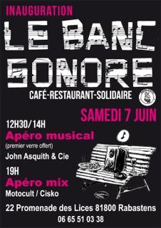 Le Banc Sonore - Rabastens (81)