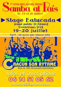 Stage Batucada à Montricoux (82)