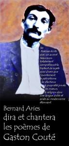 Bernard Ariès dira et chantera Gaston Couté à Penne (81)