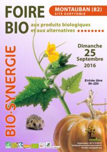 23ème foire BIO-SYNERGIE ... à Montauban (82)